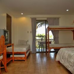 bigger family hotel room in Calatagan Batangas.