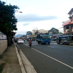 View of Inosloban, Lipa City highway
