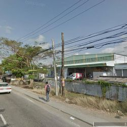 Streetview along 2nd frontage along highway to Ibaan