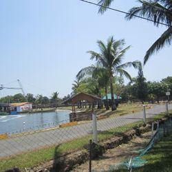 view of water park in Calatagan, Batangas.
