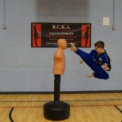 Jumping kicks