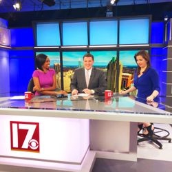 It wouldn't be a weekend morning newscast with this trio if laughter weren't a part of the rundown!