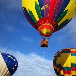 Producer: Want to go live from a hot air ballon, Friday?  Beairshelle: Done!
