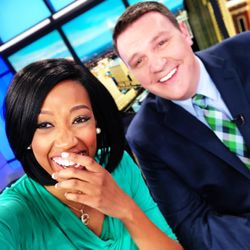 If your anchors aren't laughing like this, then you've got to wake up with CBS 17!