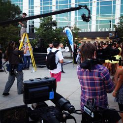 Auditioners Head Out at the Crack of Dawn for the Preliminary Rounds of American Idol Omaha.