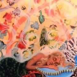 Dreaming (The Birds) 2' x 3' Acrylic