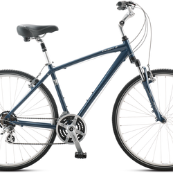 Jamis Citizen 2 - Hybrid - Perfect for sight seeing and cruising the Katy Trail.