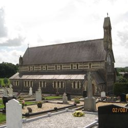 Killygarry Church and graveyard on the Dublin Road out of Cavan Town