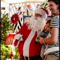 Caucasian Santa Claus
