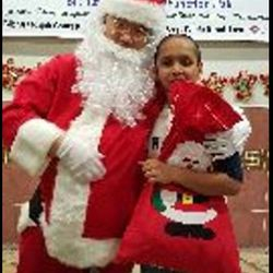 Friendly Local Santa