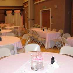 Wedding luncheon - Build-A-Package with fabric panels