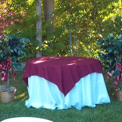 Cake table area