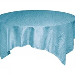 Light Blue Crinkle Taffeta