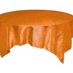 Orange Crinkle Taffeta