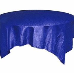 Royal Blue Crinkle Taffeta