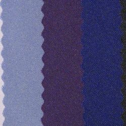 (left to right) Lavender, Barney Purple, Purple, Dark Purple, Eggplant