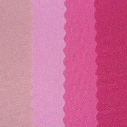 (left to right) Pale Pink, Dusty Rose, Mexi Pink, Light Fuschia, Fuschia, Watermelon