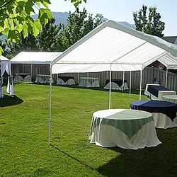 Canopy tents and Covered Wrought Iron Gazebo