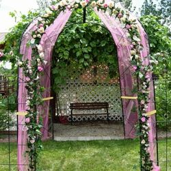 Wrought Iron Gazebo - main backdrop