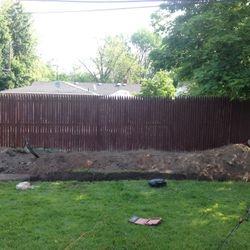 Retaining wall installation Amherst, NY