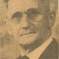 Reverend Ira W. Kingsley 1927-1929