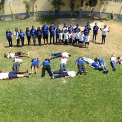 Key Club of  GIA,Guyana-Raising awareness for the Eliminate Project!