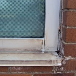 We remove the old caulking, to provide a superior, long-term seal