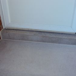 Cleaning is a breeze and freeze-thaw damage prevented by sealing patio to brick