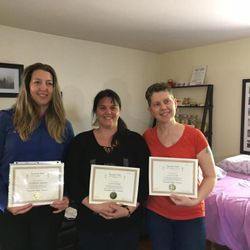 Congratulations to Jennifer, Leisa and Cathy for completing their Kundalini Reiki Master Intensive course! Cedar Cove Wellness Cobourg, ON