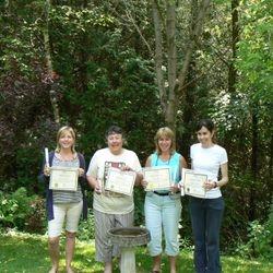 Congratulations to 4 new Reiki Masters! Cedar Cove Wellness Cobourg ON