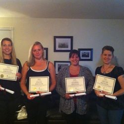 Congratulations to Jennifer, Cindi, Leisa and Cathy who received their Reiki Master Teacher certificates today! Cedar Cove Wellness Cobourg ON