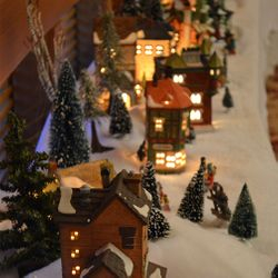 Christmas Village Courtesy Utah Shakespeare Festival and Jerry and Pat Snider