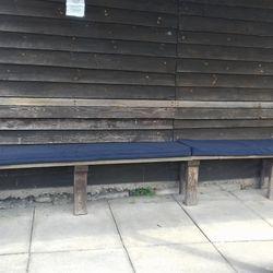 Refurbished bench seat. Thank you Bob.