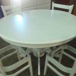 after furniture painting