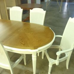 after furniture spraypainting