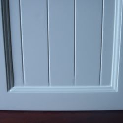 after kitchen door restoration