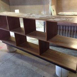 before furniture spray painting