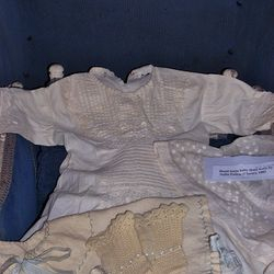 Baby clothes donated by Joan Learish