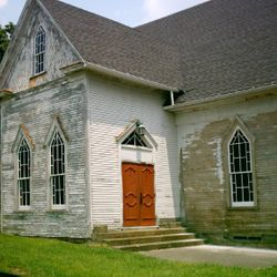 Historic Licking Church...Before