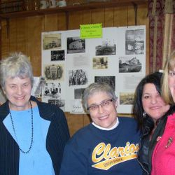 Brenda Weyant, CATTCO Pres. Mary Zeller, CUP Pres. Karen Whitney, Stevette Wano & CCHS Exe. Director Mary Lea Lucas