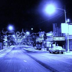 Holiday Magic in Clarion, circa 1960's.