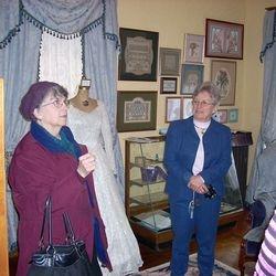 CarolBriggs (L) & Madelon Callen, Past DAR Regent