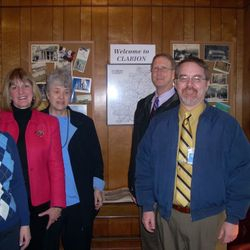 St Rep Donna Oberlander, CCHS Exec. Director Mary Lea Lucas, CATTCO Pres. Mary Zeller, CC Commissioners Greg Faller & Wayne Brosius