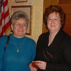 Madelon Callen, Past CDAR Regent & Betty Elza, CDAR Regent