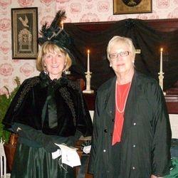 CCHS Exeutive Director Mary Lea Lucas & Senator Mary Jo White at the CCHS VIP Reception, PA Civil War 150 VIP