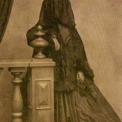 Victorian Lady in Mourning