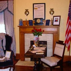 The newly opened DAR Women's History Room. March 2013