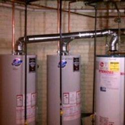Triple Water Heater Install