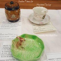 Doulton Tobacco Jar, Moustache Tea Cup, 15th Century Bellarmine