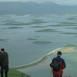 View of Clew Bay from the summit.